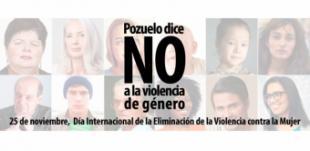 """Pozuelo de Alarcón """"Dice No a la Violencia contra la Mujer"""" con un programa de actividades para prevenir y sensibilizar"""