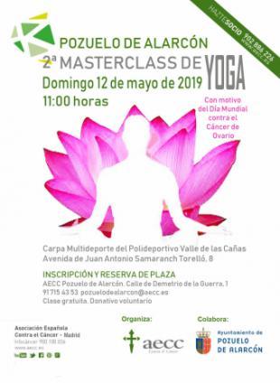 Pozuelo de Alarcón celebra este domingo una Masterclass de yoga con motivo del Día Mundial contra el Cáncer de Ovario