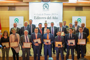 La AEEPP entrega los premios 'Editores 2016' en la sede de la Comunidad de Madrid