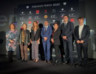 La Comunidad apoya al sector audiovisual en la presentación de la gala de los Premios Feroz 2020