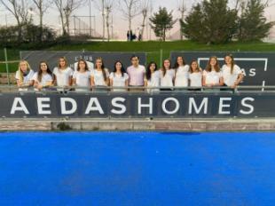 Solo faltó el gol para el equipo de primera división femenina del Club Hockey de Pozuelo en su visita a Terrassa