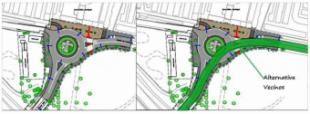 La Asociación Cívica Vecinos por Pozuelo considera un despilfarro poco útil la construcción de una rotonda junto al cementerio.