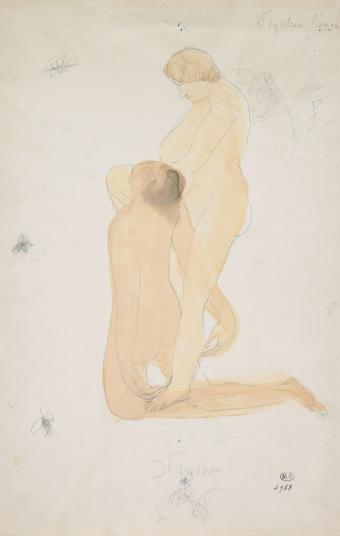 """""""Rodin, dibujos y recortes"""