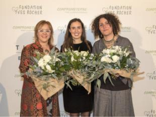 Leticia López-Cotelo, primer Premio Tierra de Mujeres 2019 de la Fundación Yves Rocher