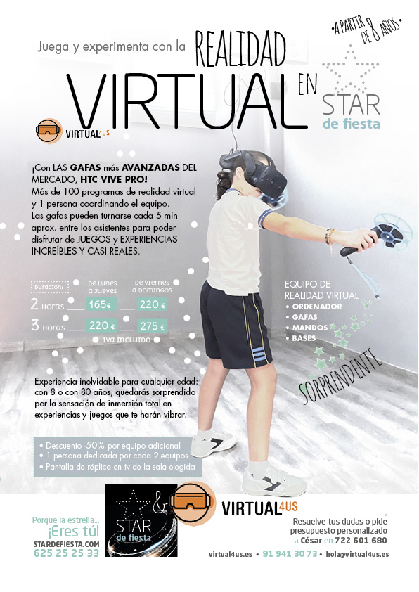 Vive la realidad virtual en Pozuelo