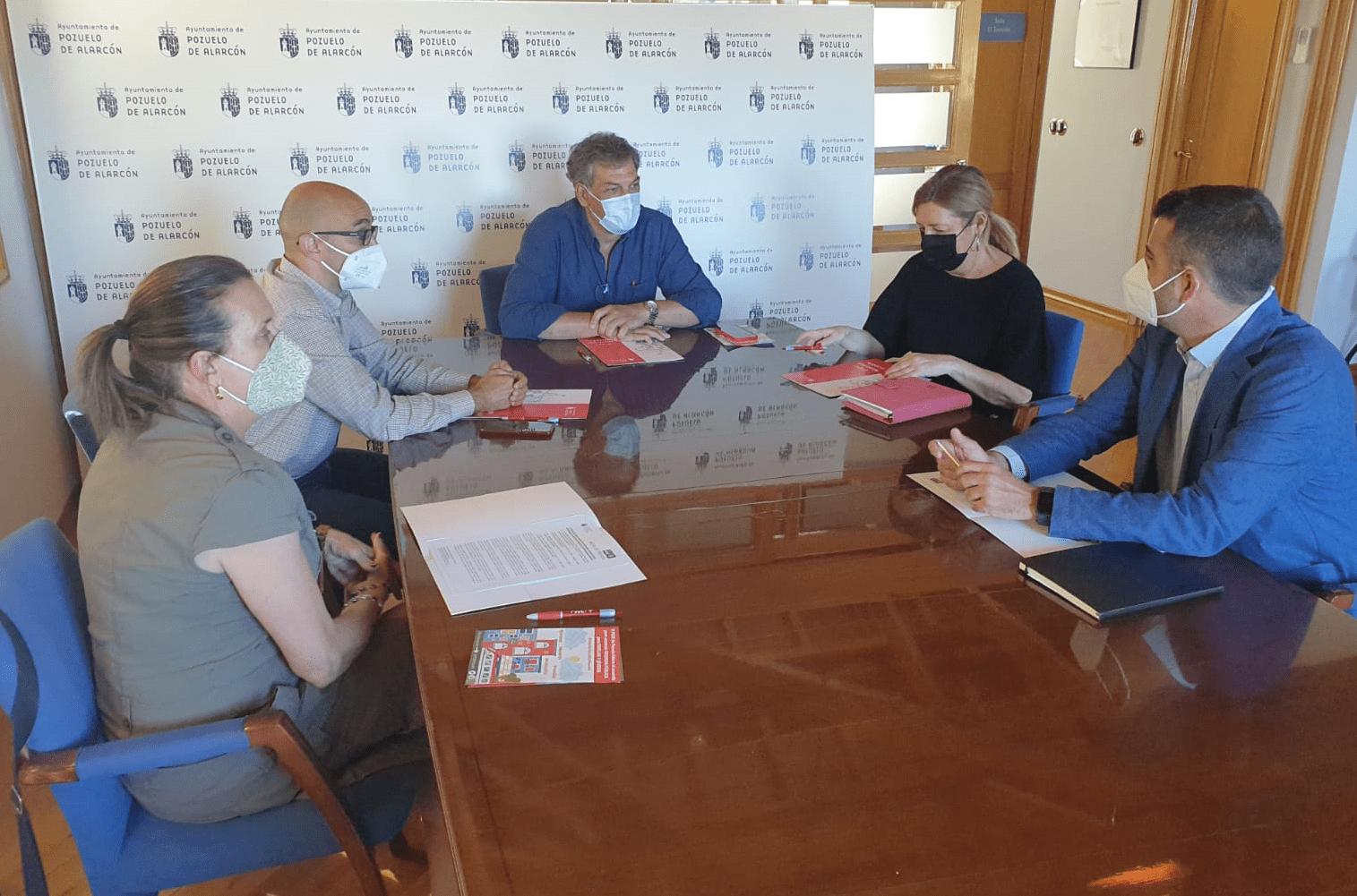 El PSOE de Pozuelo traslada a Marta Bernardo y Gonzalo Pastor, diputados de la Asamblea de Madrid, los problemas del municipio