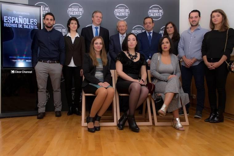 """Clear Channel y Esic presentan a los 10 ganadores del proyecto """"Hechos de talento"""""""