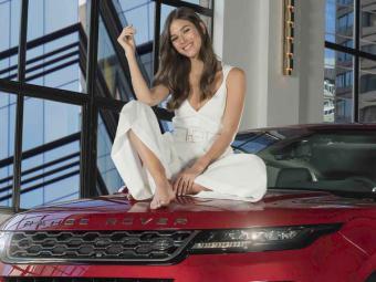 Sandra Gago ha sido la encargada de presentar el Range Rover Evoque