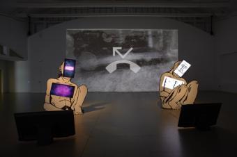 Muestra Arte Asturiano. En Sala de Arte Joven.
