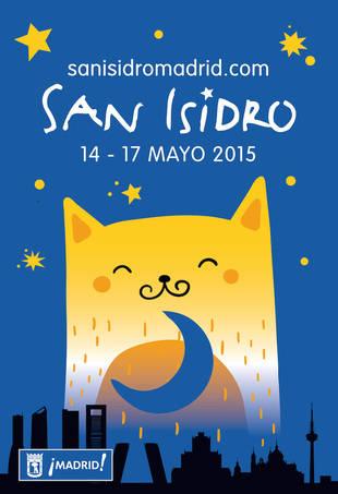 Cartel de Las Fiestas de San Isidro 2015 (Foto: Chema Fernández)