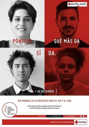 Cruz Roja trabaja a diario para prevenir y sensibilizar en la lucha contra el Sida en la Comunidad de Madrid