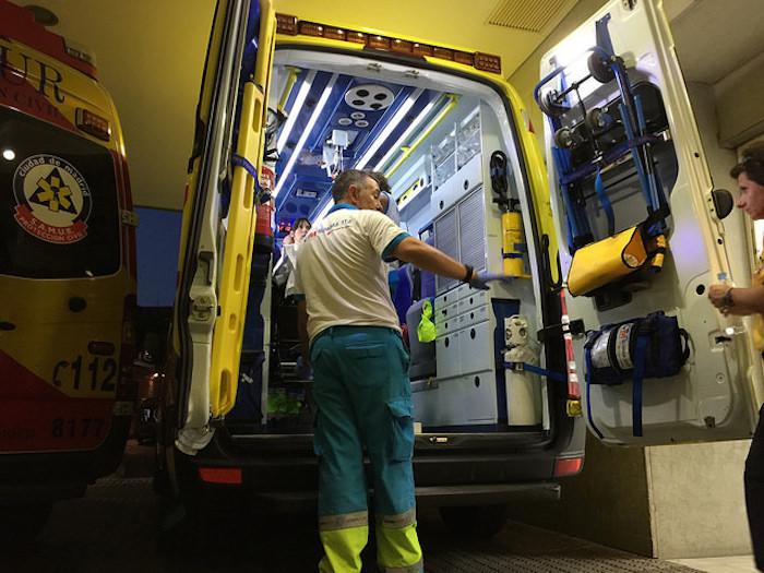 Ambulancia de Summa Madrid
