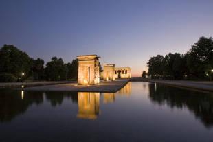 El templo de Debod ya se puede volver a visitar