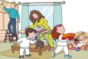 En los hogares la mujer sigue soportando el mayor peso en el reparto de tareas