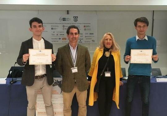 La Universidad de Huelva gana el II Concurso Nacional de Estrategia Empresarial organizada por la Universidad Francisco de Vitoria (Madrid)