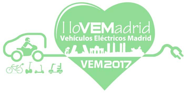 El VEM 2017 mostrará a los madrileños lo último en movilidad eléctrica