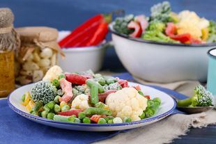 Las verduras congeladas favorecen una alimentación saludable y reducen el desperdicio alimentario