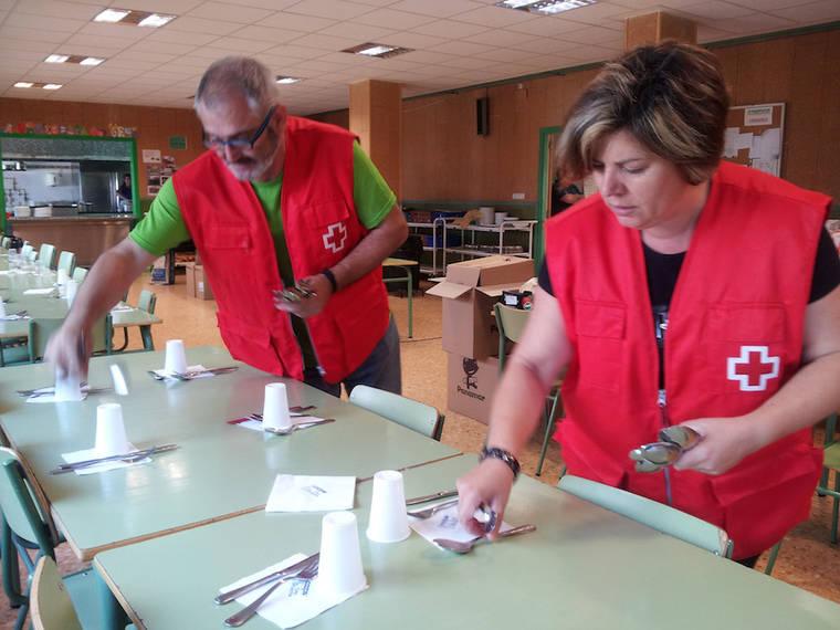Cruz Roja distribuye más de 15 millones de kilos de alimentos