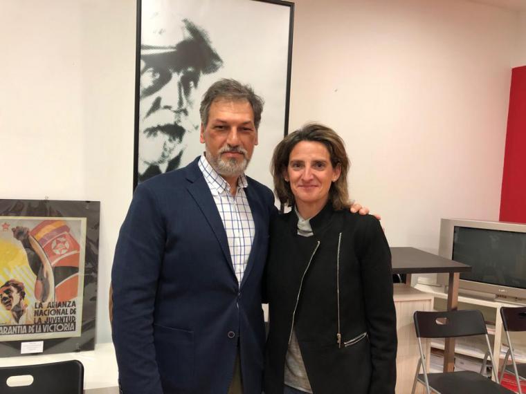 La Ministra Teresa Ribera acompaña Bascuñana en la apertura de campaña del PSOE en Pozuelo