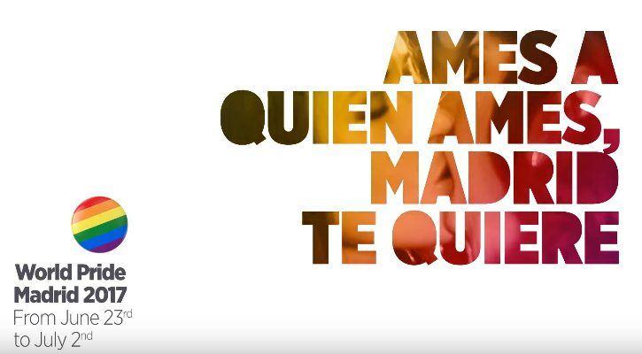 'Whoever you love, Madrid loves you', lema y presentación en Nueva York del World Pride