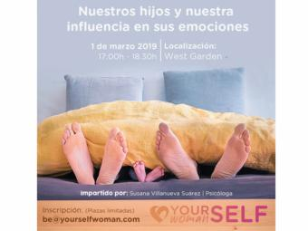 """Yourself Woman lanza el primer taller gratuito titulado: """"Nuestros hijos y nuestra influencia en sus emociones"""""""