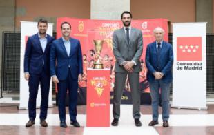 """Aguado: """"Es un inmenso honor para el Gobierno regional albergar la Copa del Mundo de Baloncesto, ganada con el esfuerzo de nuestra selección"""""""