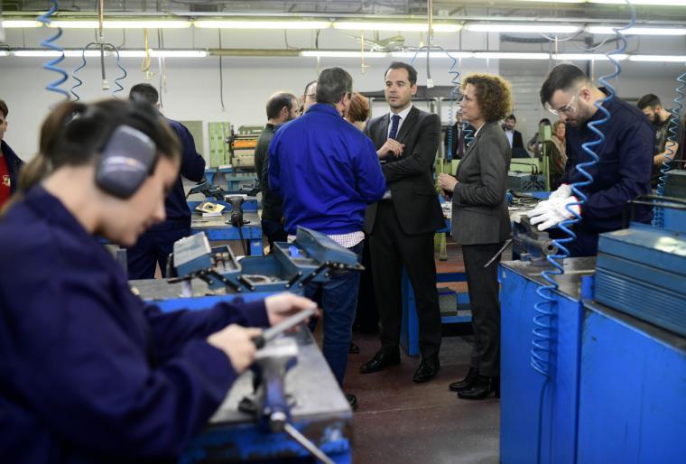 Aguado: 'Vamos a invertir 16 millones de euros en formación especializada para fomentar el empleo de calidad en la Comunidad de Madrid'