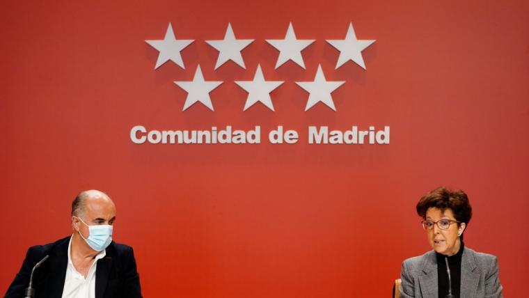 La Comunidad de Madrid amplía el horario de las restricciones de movilidad nocturna desde las 23:00 horas hasta las 06:00 horas a partir del próximo lunes