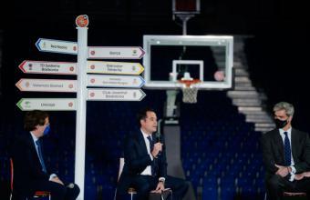"""Aguado: """"La Comunidad de Madrid vuelve a ser la sede del mejor baloncesto con la celebración de la Copa del Rey ACB 2021"""""""