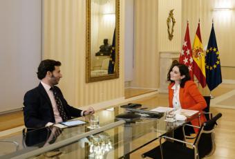 """Díaz Ayuso: """"Debemos ser capaces de crear proyectos para que los jóvenes se sientan representados y se queden en España"""""""