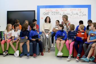 La Comunidad de Madrid implantará planes educativos para mejorar la ortografía y la comprensión lectora de los alumnos