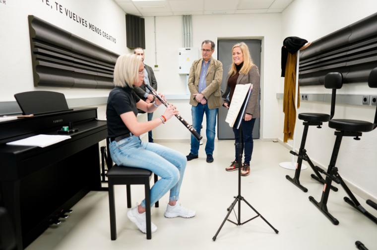 La Comunidad de Madrid abre diez salas de ensayo y un estudio de grabación para los jóvenes músicos