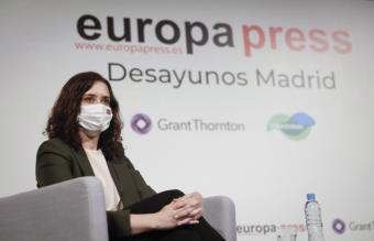 Díaz Ayuso anuncia la puesta en marcha de una estrategia integral de cuidados en el post-COVID