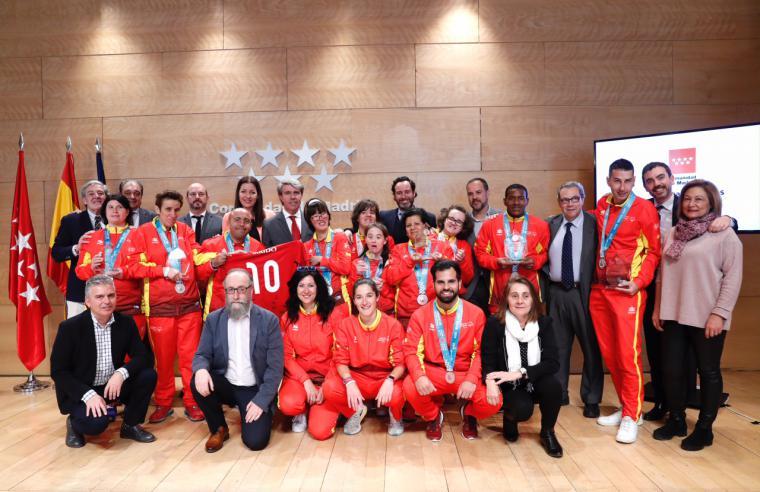 """Garrido: """"La Comunidad de Madrid seguirá impulsando iniciativas para construir un mundo más inclusivo en todos los ámbitos"""""""