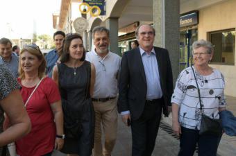 Gabilondo acompaña a Bascuñana por Pozuelo Pueblo y presentan su plan de revitalización de la zona