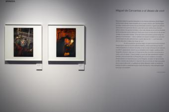 Hasta el 26 de abril en el Museo Casa Natal de Cervantes, en Alcalá de Henares