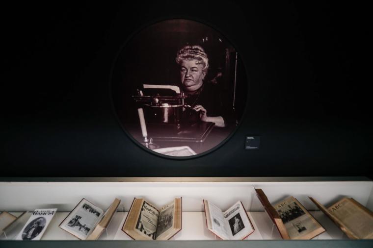 La exposición sobre Pardo Bazán permanecerá abierta hasta el 26 de septiembre con el apoyo de la Comunidad de Madrid