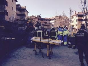 Muere un obrero tras caer de una grúa en Pozuelo