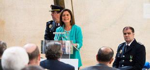 La alcaldesa de Pozuelo ensalza el compromiso de la Policía Nacional