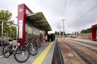 Aparcamientos disuasorios para bicicletas en Pozuelo