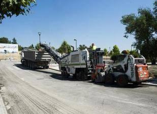 Operación asfalto en Pozuelo