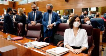 Díaz Ayuso da continuidad a su nuevo Gobierno, en el que consolida a sus consejeros e incorpora a Dancausa, Izquierdo y Rivera de la Cruz