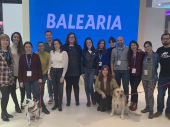 Balearia presenta sus nuevos camarotes 'pet friendly'