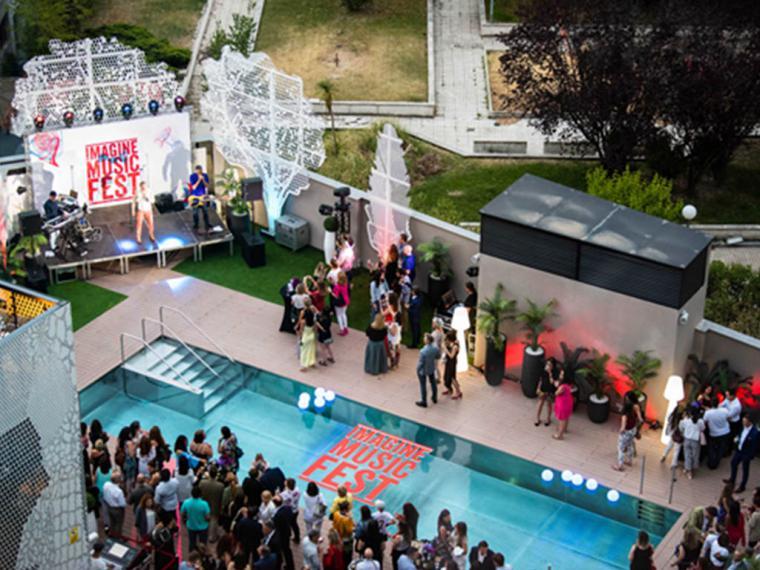 Barceló Imagine crea el primer festival de Madrid que se disfruta dentro de un hotel