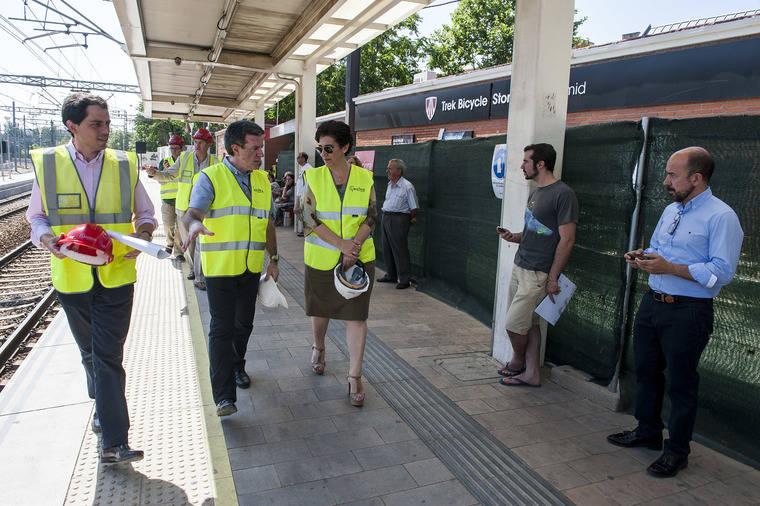 La estación de Cercanías Pozuelo se vuelve accesible