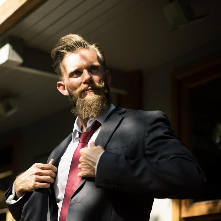 Para tu barba, ¡ya tienes un cepillo específico!