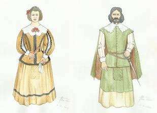 Los primeros bocetos de Mariana y Gabriel realizados por Aitor Calleja ¿Se parecerán a los reales?