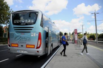 La Universidad Francisco de Vitoria pone en marcha un autobús gratuito para trasladar al campus a los alumnos que vivan en Boadilla