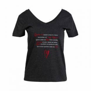 La nueva moda de las camisetas con mensajes de amor. ¿Te atreves a llevarlas? ¿Y a regalarlas?