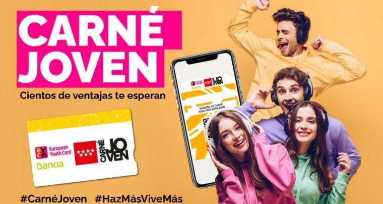 La Comunidad de Madrid prepara una estrategia para aumentar las ventajas del Carné Joven